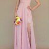 Vestido para damas de honor palo de rosa