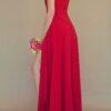 Vestido para damas de honor rojo